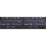 Transmitter 4K HDMI+USB KVM Extender over IP/Fiber, with POE