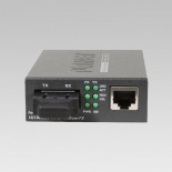 FT-801 10/100Base-TX to 100Base-FX (ST) Bridge Media Converter, LFPT Supported