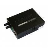 FT-802S35 10/100TX - 100Base-FX (SC) Single Mode Bridge Fiber Converter - 35KM, LFPT