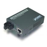 FT-806A20 10/100TX - 100Base-FX (WDM) Bi-directional Fiber Converter - 1310nm - 20KM, LFPT
