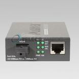 FT-806B20 10/100TX - 100Base-FX (WDM) Bi-directional Fiber Converter - 1550nm - 20KM, LFPT