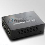 FT-1205A 1-Port 10/100TX - 2-Port 100Base-FX(SFP) Switch/Redundant Media Converter