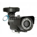 BLE-1200  Camera Bullet, CCD SONY 1.4MP 1200 TVL 720P  Infrarouge pour 20 metre et objectif fixe 3.6mm IP66