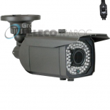 Camera Bullet, CCD SONY 1.4MP 720P 1200 TVL WDR  InfrarougeBLHVE-1200   pour 40 metre et objectif varifocal 2.8-12mm IP66