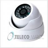 DLVE-1200  Camera Minidome, CCD SONY  1200 TVL  720P  Infrarouge pour 30 metre et objectif varifocal 2.8-12mm