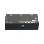 1x4 HDMI splitter,support 3D, 4k@60hz YUV 4:2:0, HDCP1.4,EDID