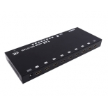 1x8 HDMI Splitter,support 3D, 4k@60hz YUV 4:2:0, HDCP1.4, EDID