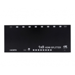 1x8 HDMI Splitter,support 3D, 4k@60hz YUV 4:2:0, EDID,HDCP2.2