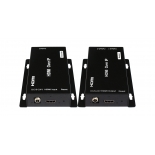 Transmitter 120m  HDMI Extender over IP ,with 2x RJ45  Port on Receiver