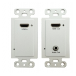 Transmitter H.264 120m HDMI Wallplate Extender over IP