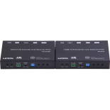 Transmitter 4K HDMI+USB KVM Extender over IP/Fiber