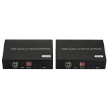 H.264 HDMI over IP Extender, with LED, Remote, POE, RS232