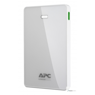 Pack d'alimentation mobile ,lithium-ion 10000mAh,blanc