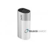 Pack d APC alimentation mobile 3000 mAh lithium-ion cyl argent