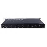 Foxun Contrôleur de mur vidéo et matrice HDMI sans fil 4X4 sans soudure