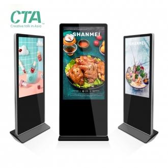 Ecran tactile interactif CTA 55 pouces, Terminal Totem, Service automatique