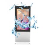 Kiosque extérieur LCD 55 pouces écran tactile