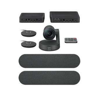 Logitech Rally Plus système de vidéo conférence 16 personne(s) Ethernet/LAN Système de vidéoconférence de groupe