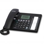 Poste de bureau Haut de Gamme 5 lignes - Planet VIP-361PE - Téléphone IP 802.3af PoE SIP avec afficheur