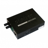 10/100TX - 100Base-FX (SC) Single Mode Bridge Fiber Converter - 35KM, LFPT
